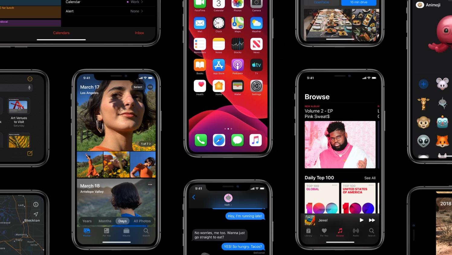 iOS 13 : plus de 80 nouveautés iPhone et iPad listées ici ! - Màj 1
