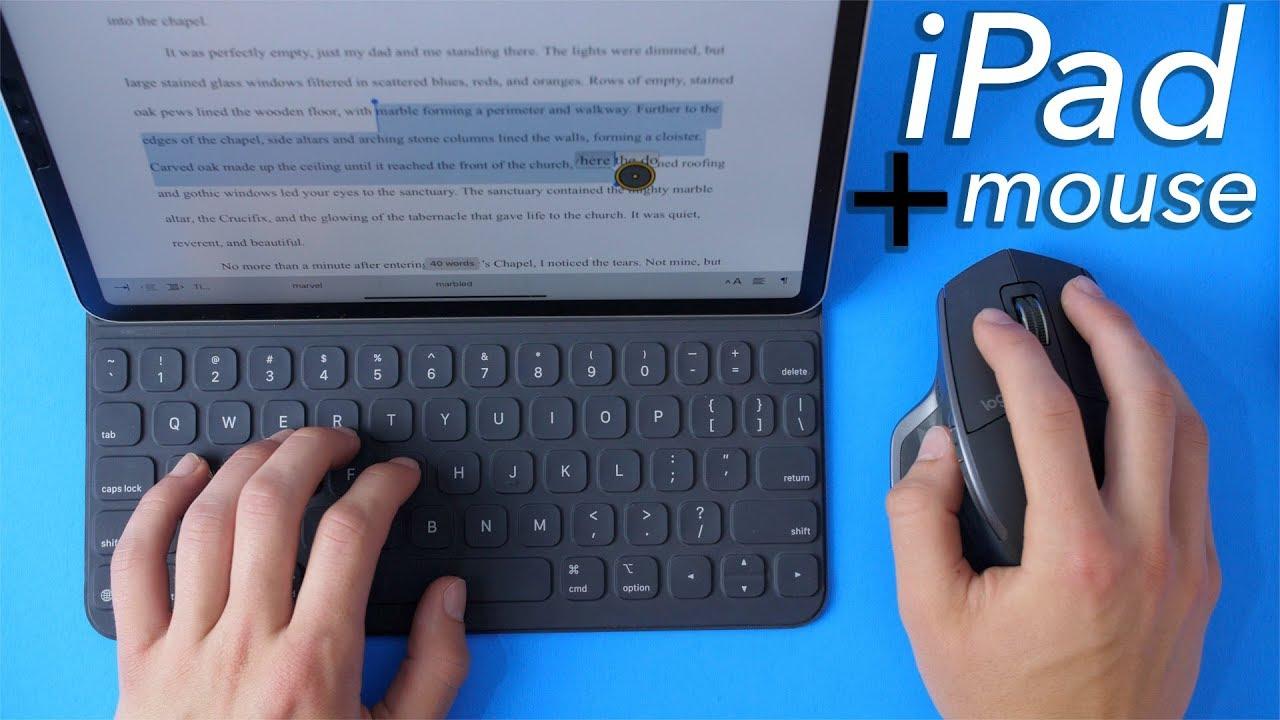 L'iPhone et l'iPad supportent désormais les souris filaires et bluetooth (vidéo) 1