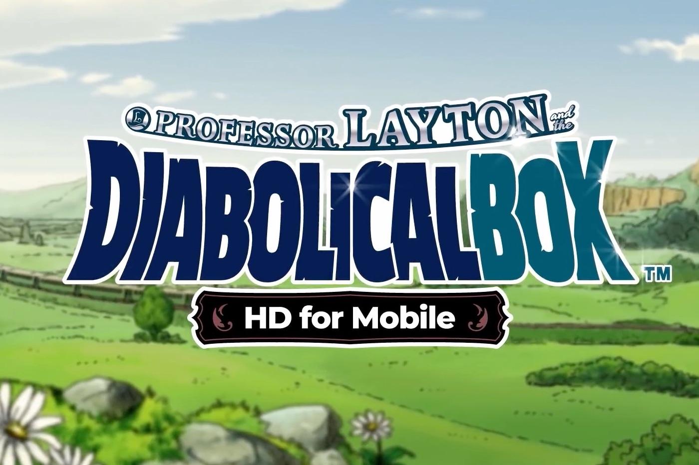 """Le nouvel épisode """"Layton et la boîte de Pandore"""" disponible sur iPhone et iPad 1"""