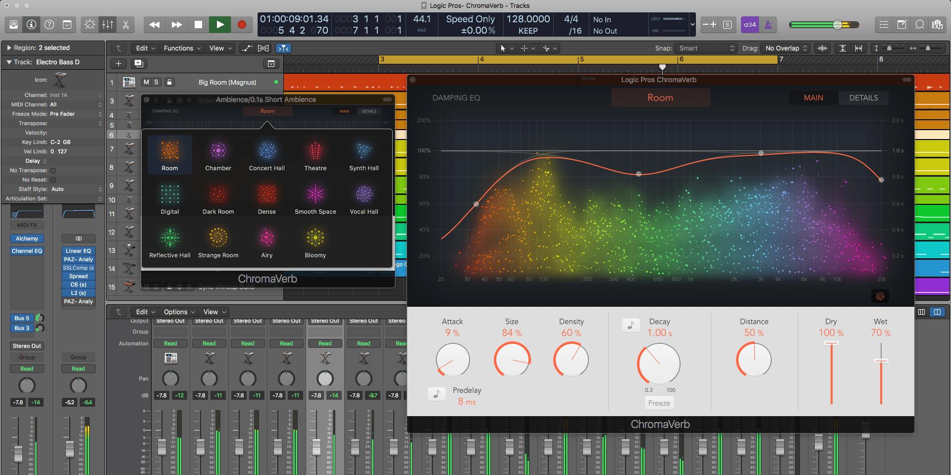 Mise à jour de Logic Pro X : support du Mac Pro et des pistes par millier 1
