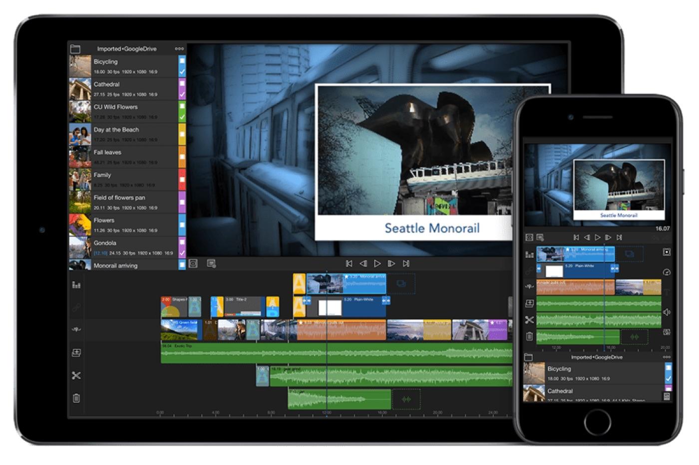 LumaFusion passe en version 2 : plus de pistes et plus d'outils pour le montage vidéo sur iPhone, iPad 1