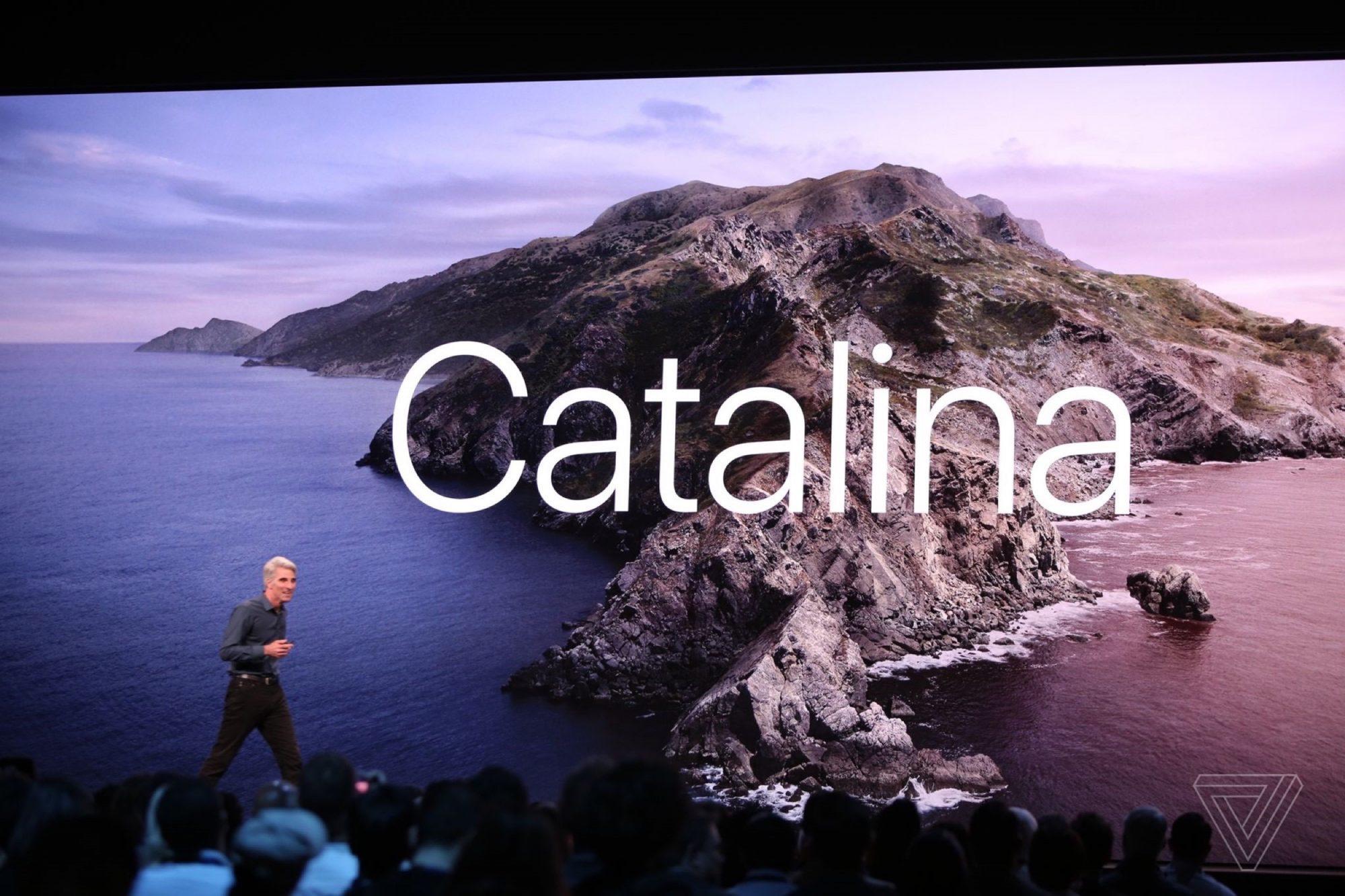 macOS Catalina Keynote