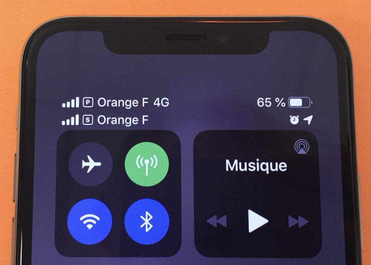 Orange et Sosh supportent désormais les eSim des iPhone XS et XR 1