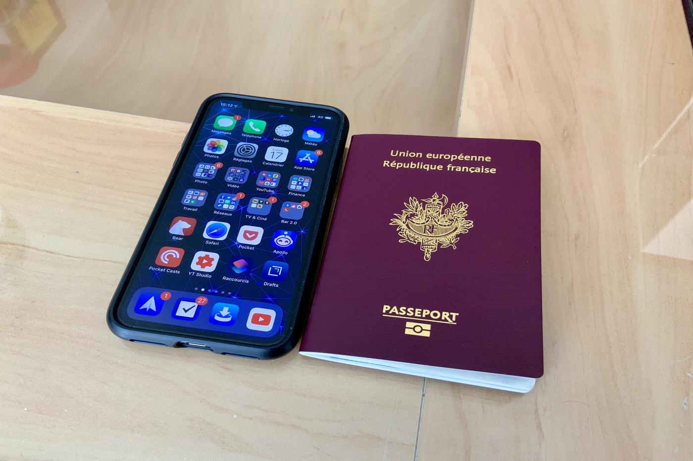 Avec iOS 13, l'iPhone peut scanner les cartes d'identité et les passeports 1