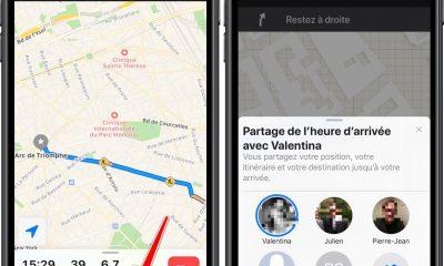 iOS 13 : Plans peut partager le temps d'arrivée en temps réel avec un ami 4
