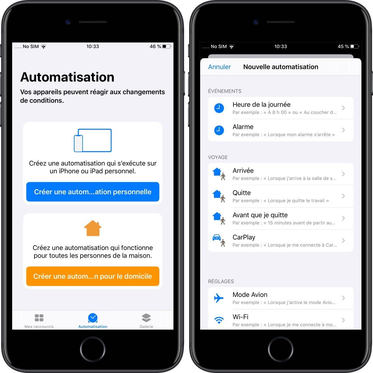 Avec iOS 13, les raccourcis s'enrichissent de nouveaux déclencheurs puissants : la liste 1