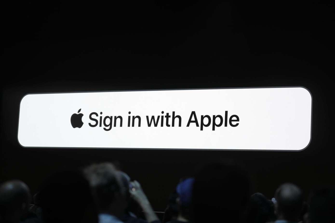 Voici comment Apple va forcer le déploiement de son service de login, sécurisé et sans fuite de données ! 1