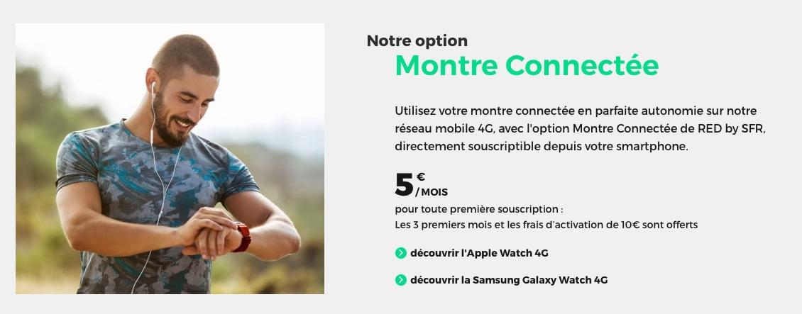 L'option eSIM pour Apple Watch disponible chez SFR et RED by SFR 8