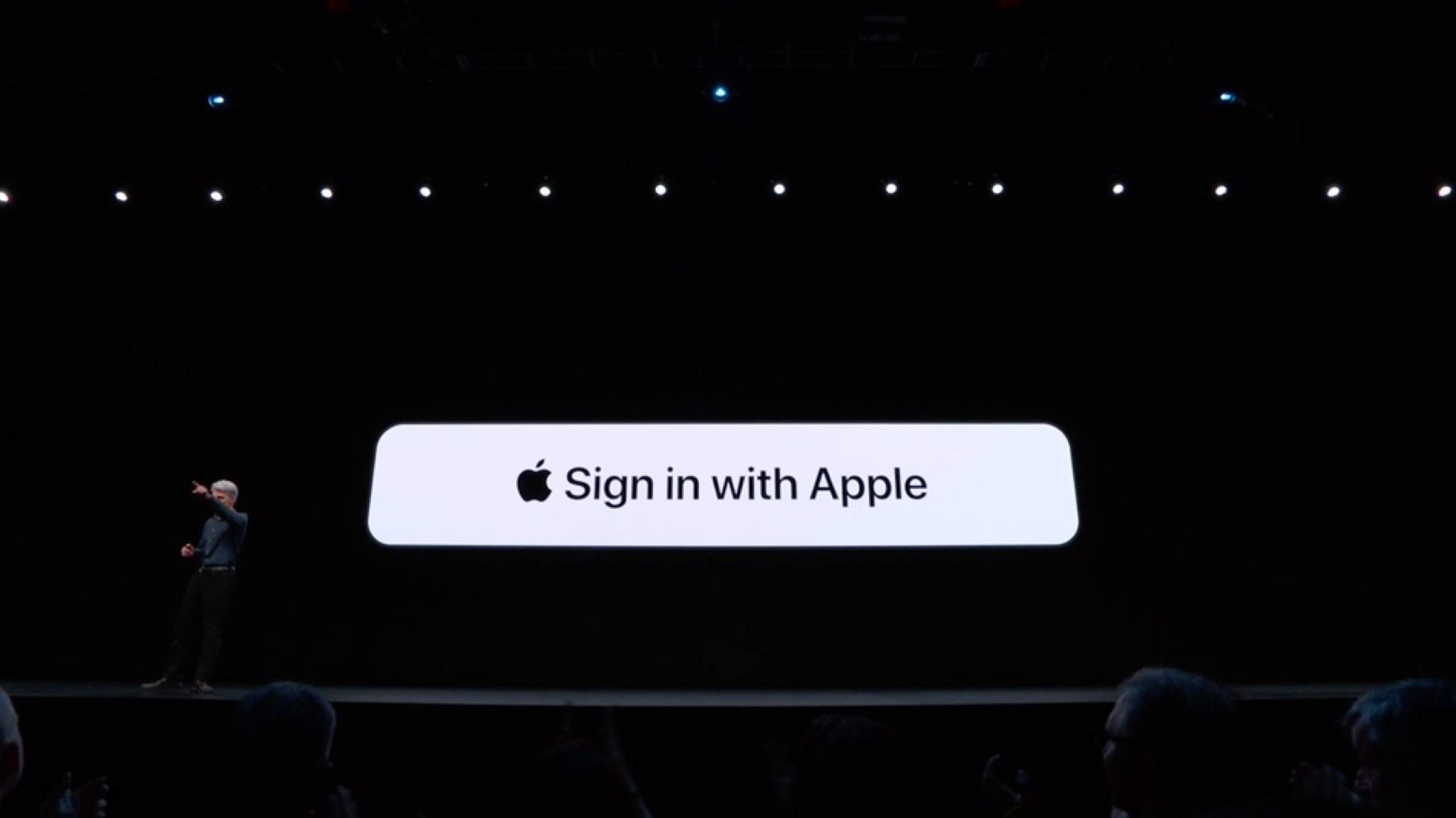 "Google reconnait que le ""Sign in with Apple"" est une solution sûre 1"