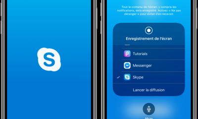 Le partage d'écran sur iPhone imminent sur Skype ! 25