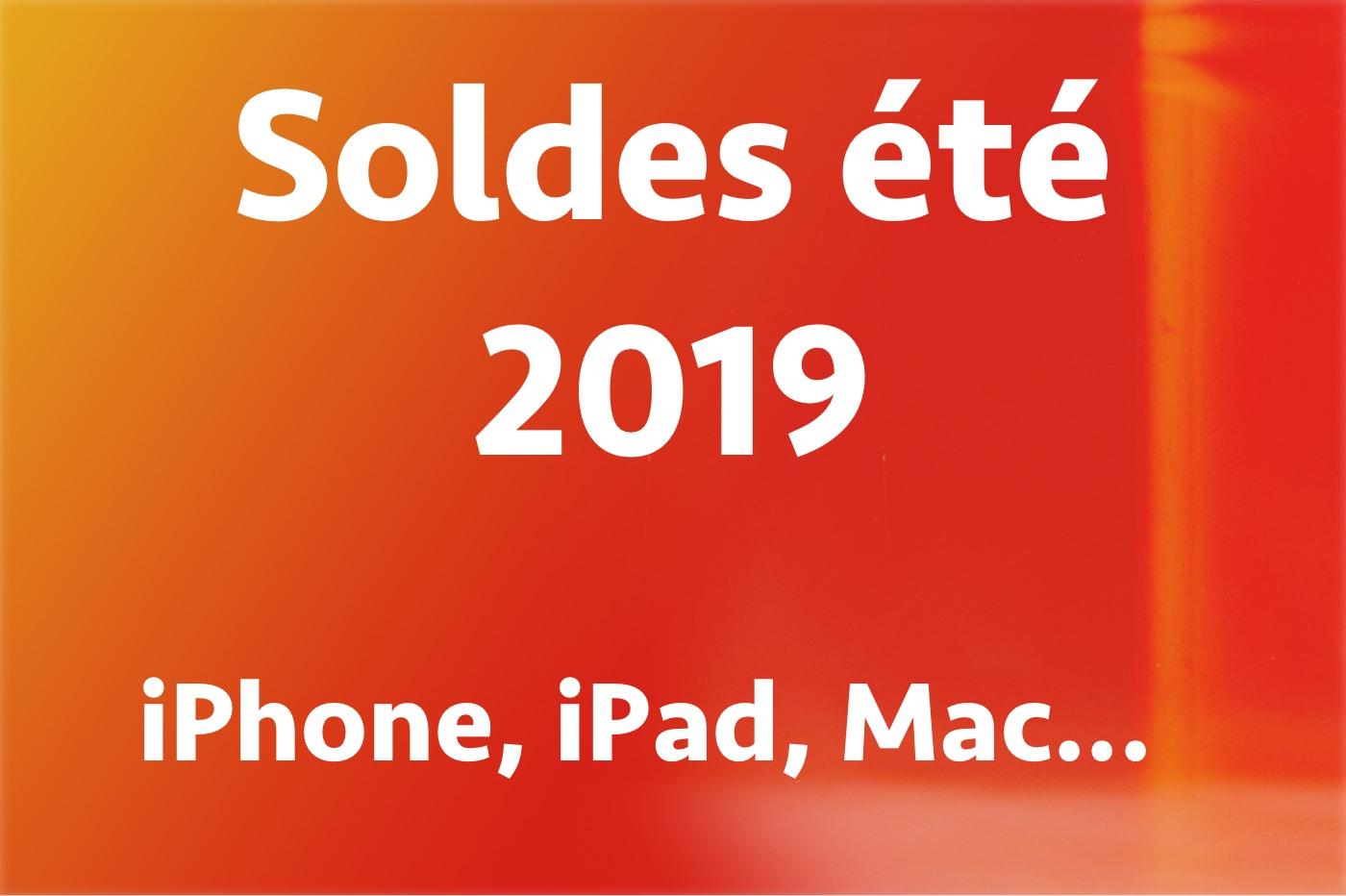 Soldes : jusqu'à -40 % sur les iPhone, iPad, Apple Watch, Mac et AirPods 1
