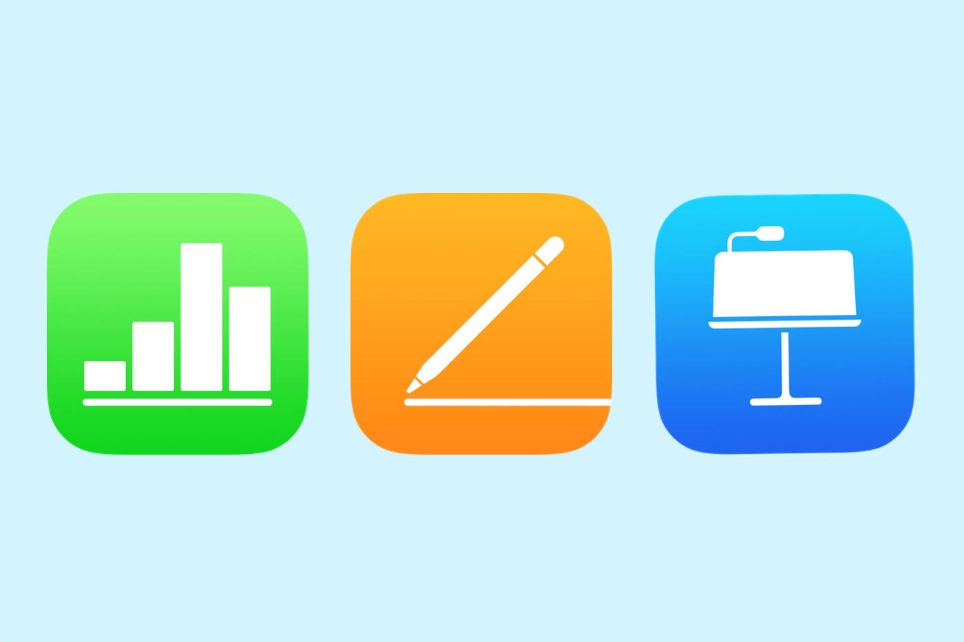 La suite iWork d'Apple mise à jour sur iOS et macOS 1