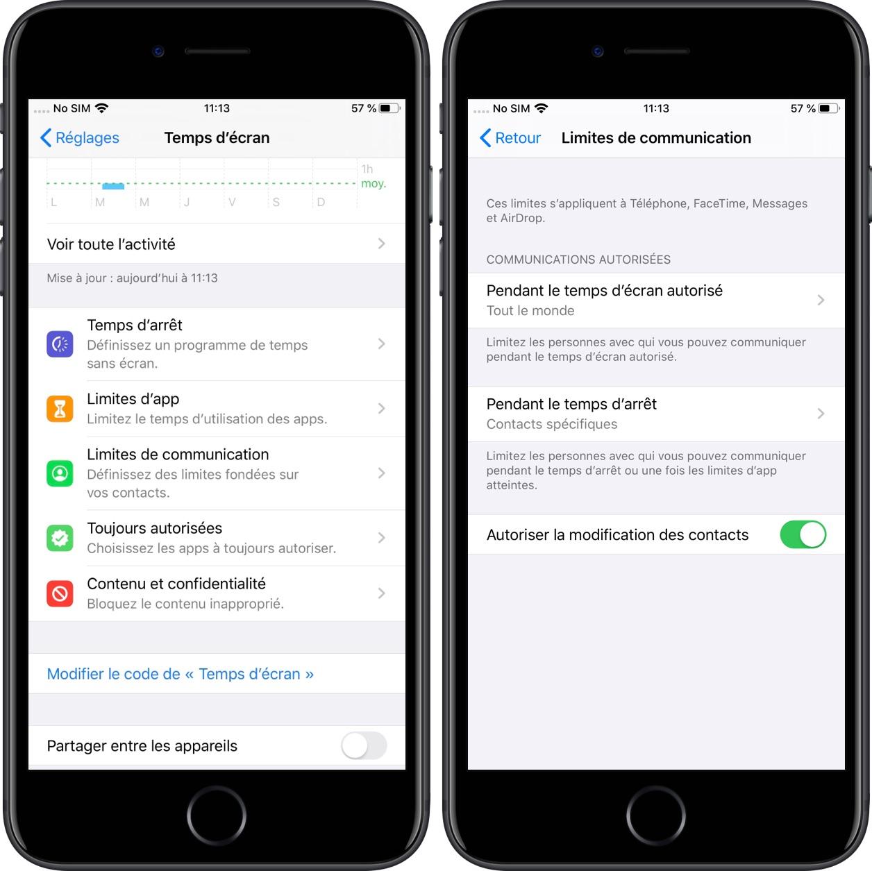 iOS 13 permet aux parents de limiter les communications des jeunes utilisateurs d'iPhone 1