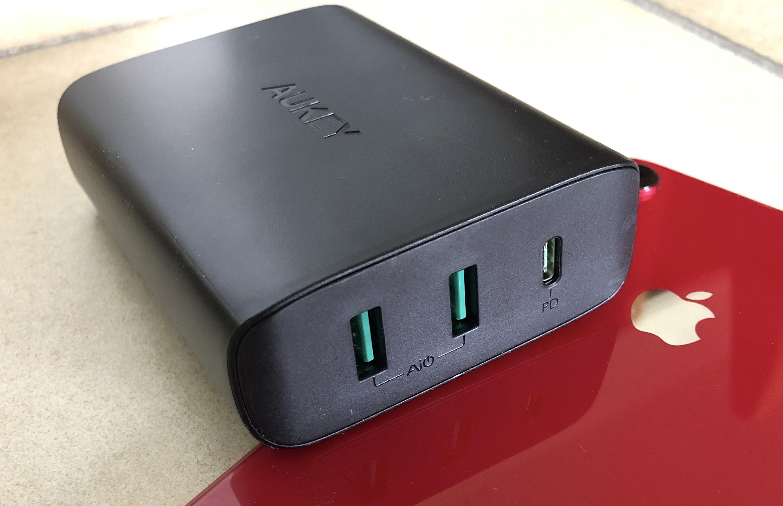 Test du chargeur USB-C PD + 2 prises USB-A Aukey : la puissance pour Mac, iPhone et iPad (avec code promo) ! 1