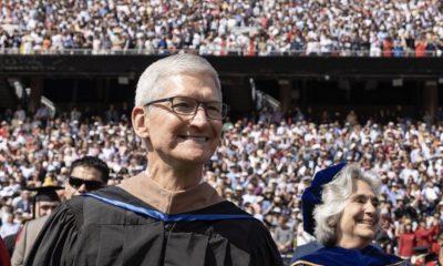 14 ans après Steve Jobs, Tim Cook prononce un discours à Stanford et encourage la responsabilité des entreprises 4