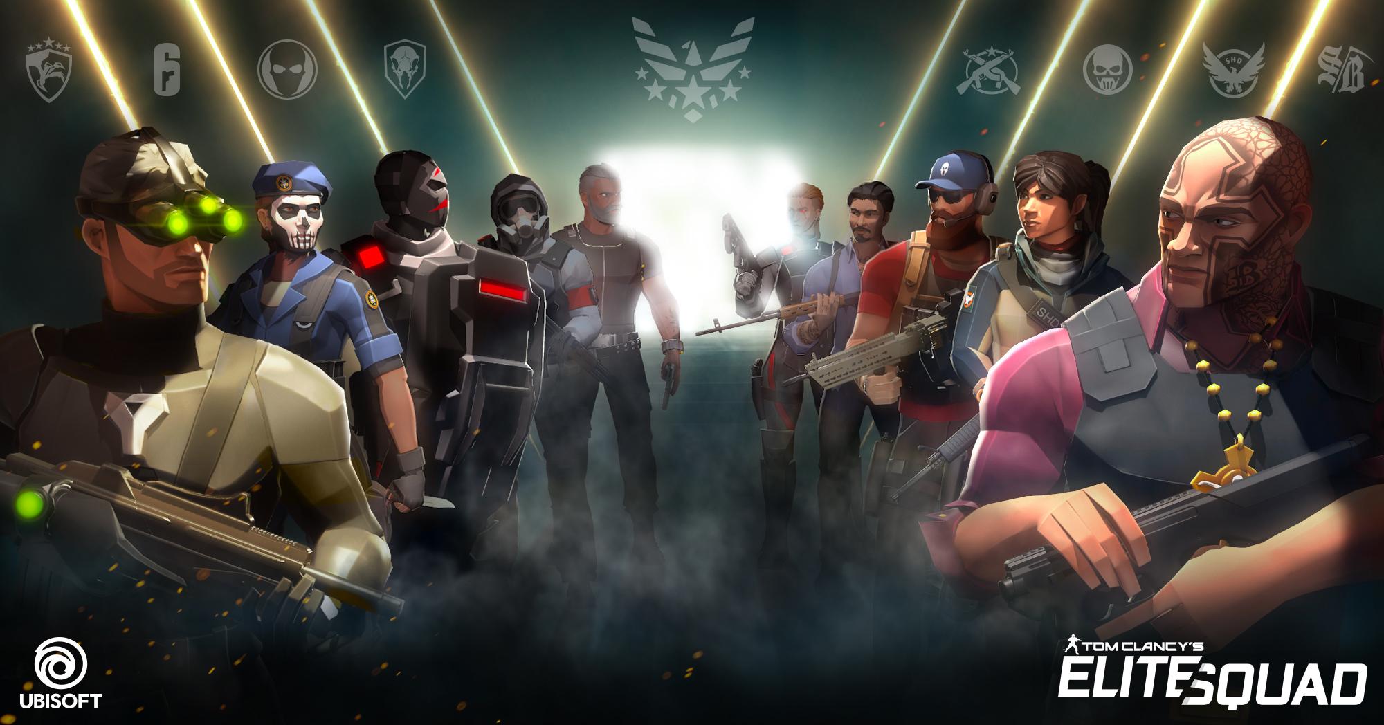 Tom Clancy's Elite Squad : Ubisoft dévoile un nouveau jeu mobile sur iPhone, iPad 1