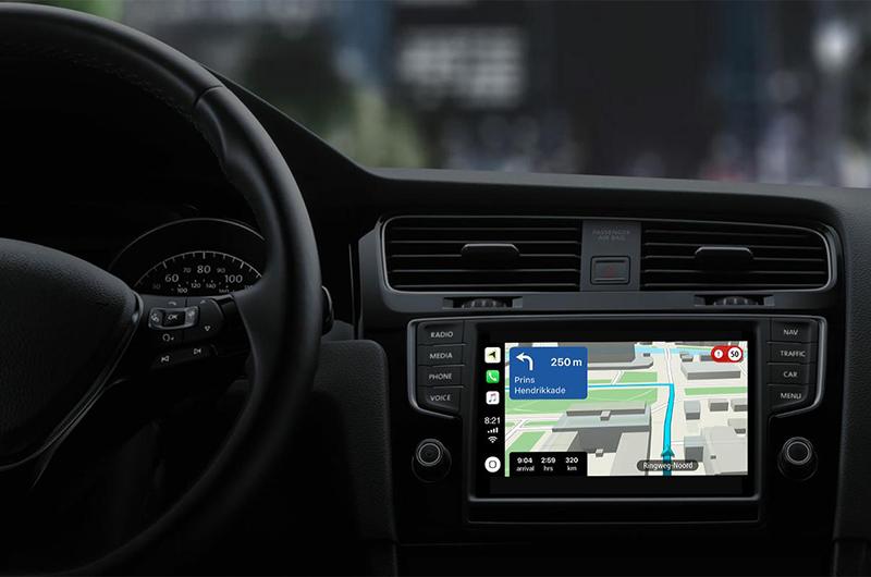 TomTom rafraichit son app iOS et CarPlay : nouvelles cartes hors ligne et améliorations des indications au programme 1