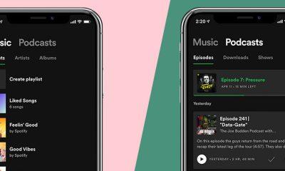 En avant les Podcasts chez Spotify, avec une nouvelle mise à jour de l'app iPhone, iPad 9