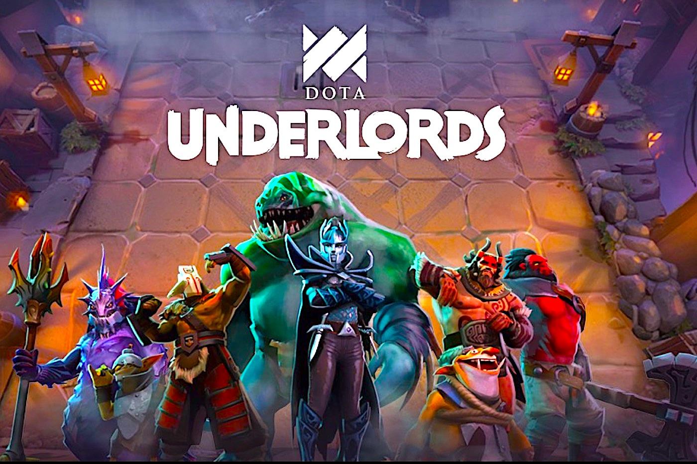 Valve sort son premier jeu mobile : Dota Underlords 1