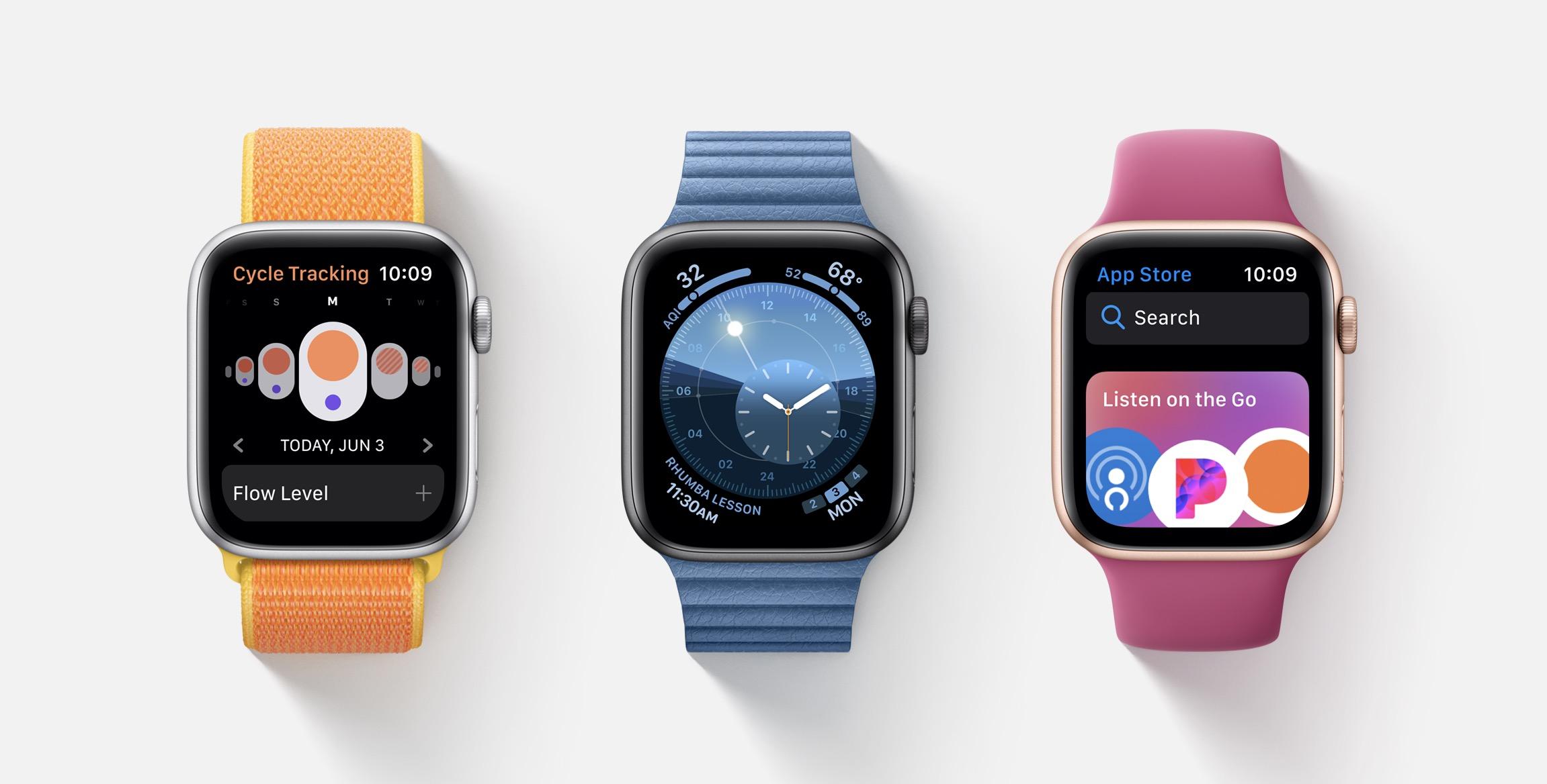 Quelles nouveautés pour l'Apple Watch avec watchOS 6 ? 1