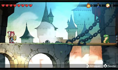 "Test de ""Wonder Boy: The Dragon's Trap"" : le lézard maudit est de retour 30 ans plus tard sur iPhone, iPad 9"