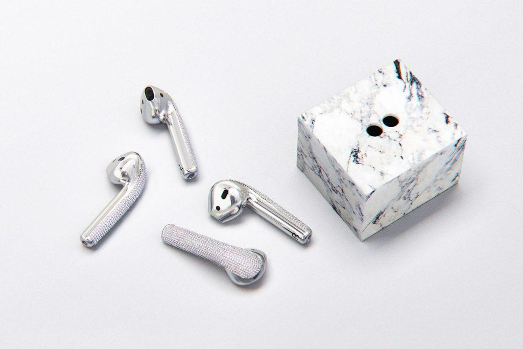Ces AirPods en diamant coûtent 20 000 dollars! 4