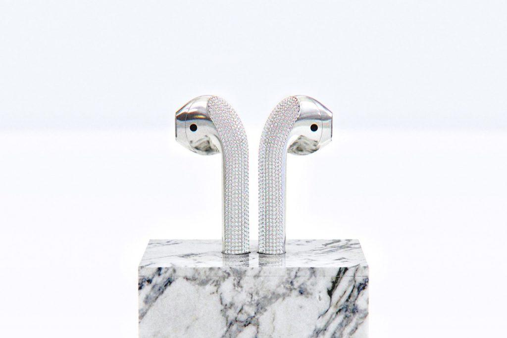 Ces AirPods en diamant coûtent 20 000 dollars! 5