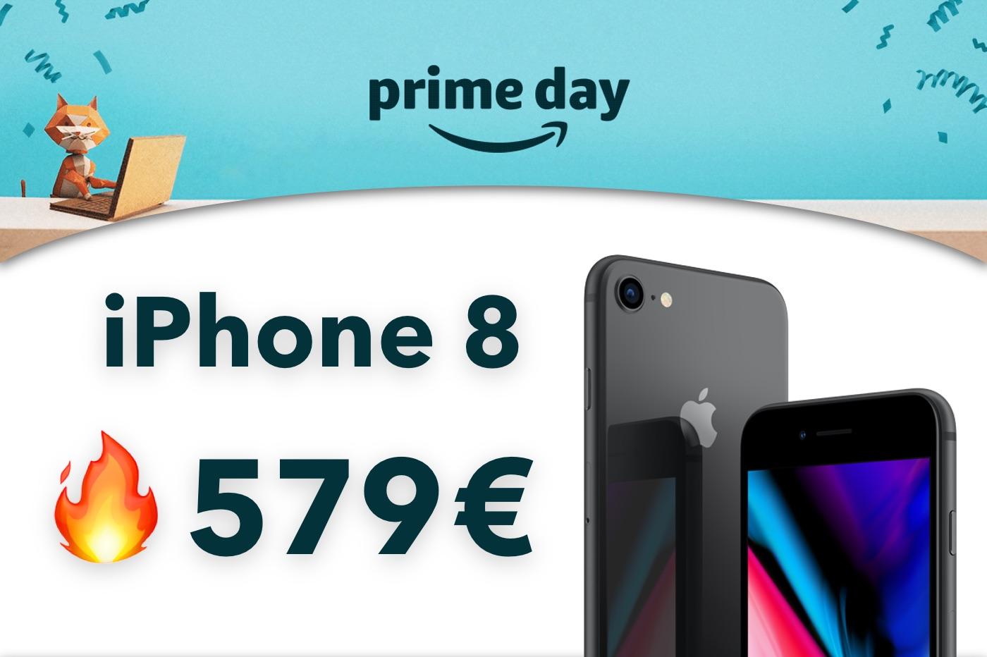 Amazon Prime Day : iPhone 8 256 Go à 579€ au lieu de 858€ (-32%) 1