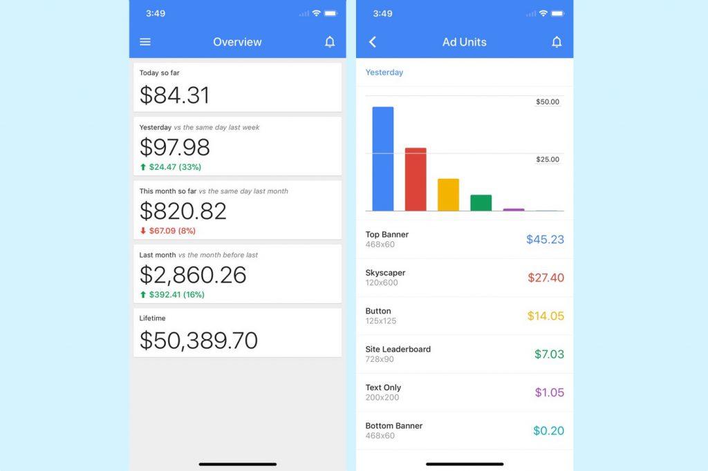 Google AdSense: l'app iOS va s'éteindre 2