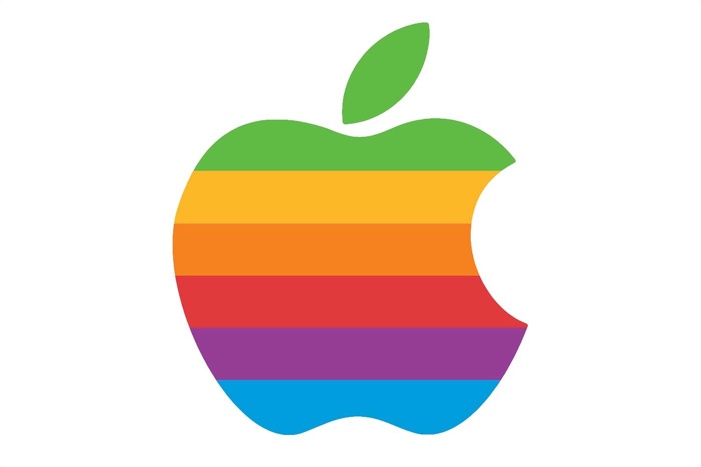 Le logo arc-en-ciel d'Apple bientôt de retour sur certains produits ? 1