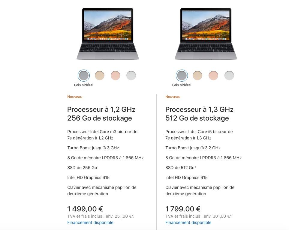 """Mise à jour MacBook: le Air moins cher, le 12"""" abandonné, le Pro plus pro 6"""