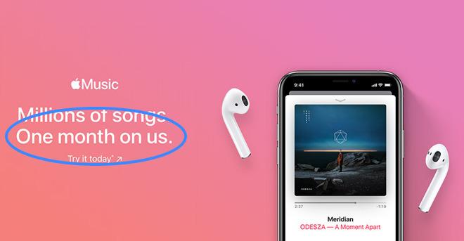 Plus qu'un seul mois d'essai gratuit pour Apple Music, au lieu de trois 2