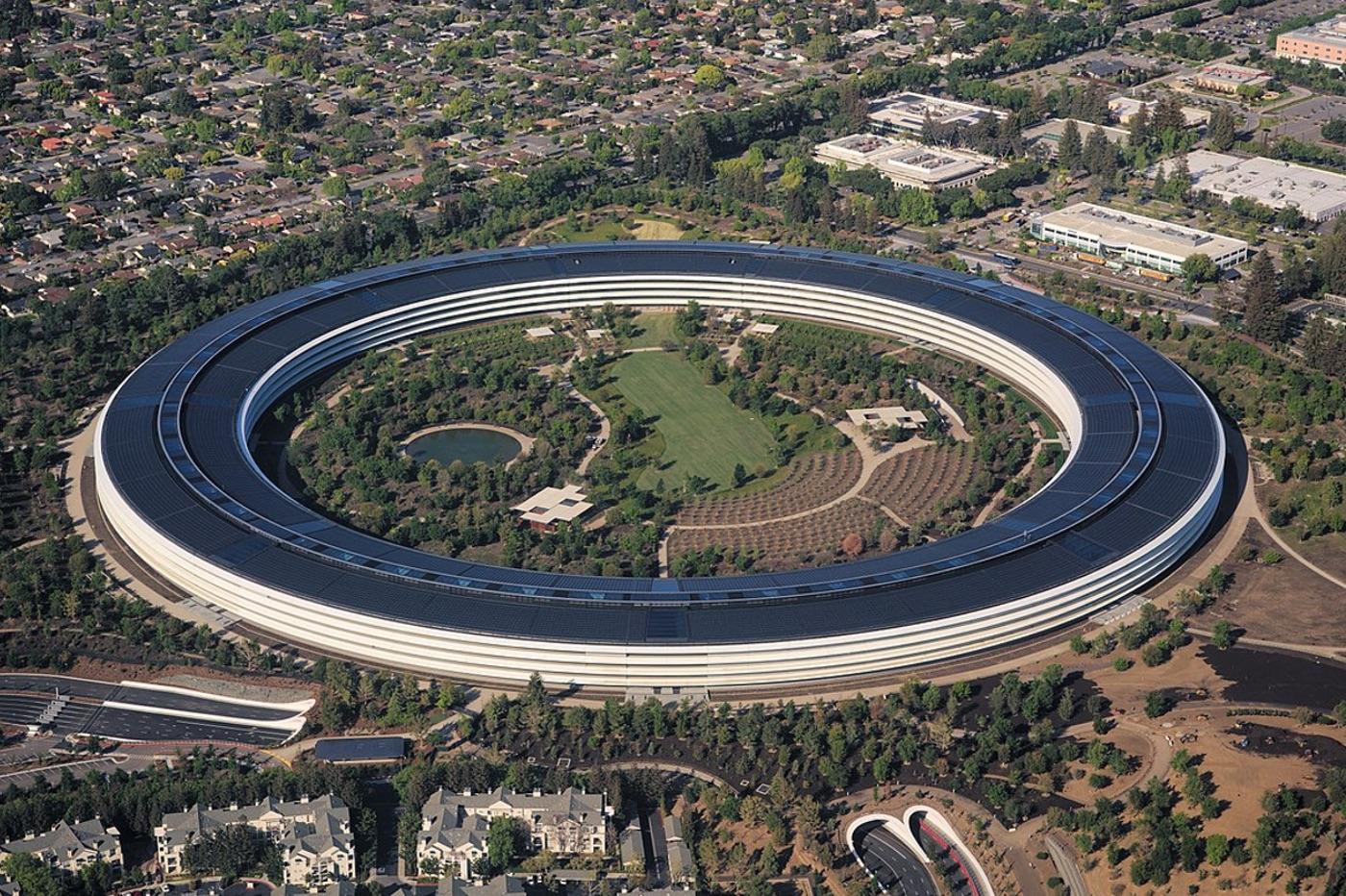 L'Apple Park : l'un des bâtiments les plus chers au monde 1