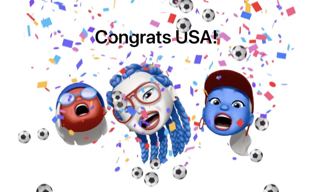 Apple célèbre la victoire de l'équipe féminine américaine de foot 2