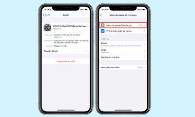iOS 13 : un bug permet d'accéder à tous les mots de passe 9