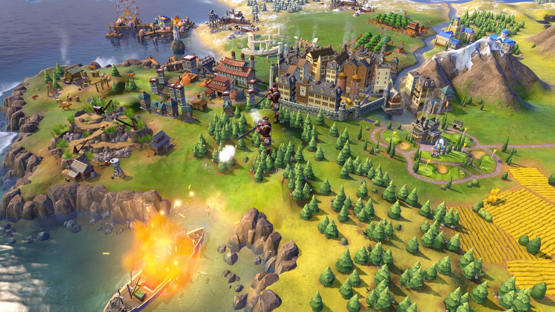 L'excellent Civilization VI sur iOS embellit d'une nouvelle extension: Rise and Fall 8