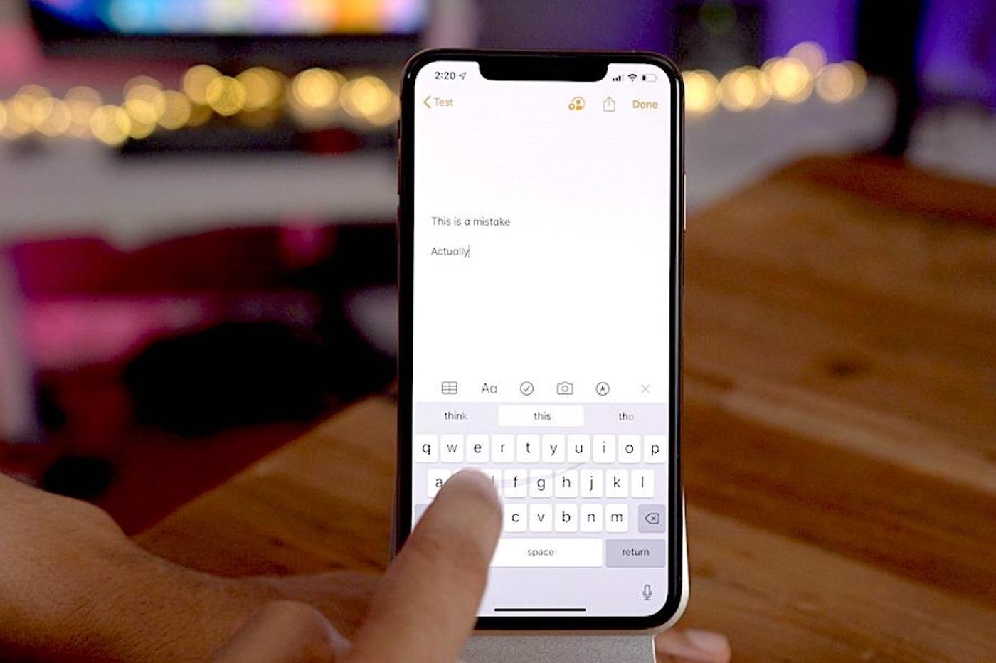 iOS 13 : comment utiliser le nouveau clavier QuickPath 1