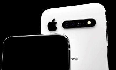 Nouveau concept iPhone 11 : retour de la barre de capteurs photo 3