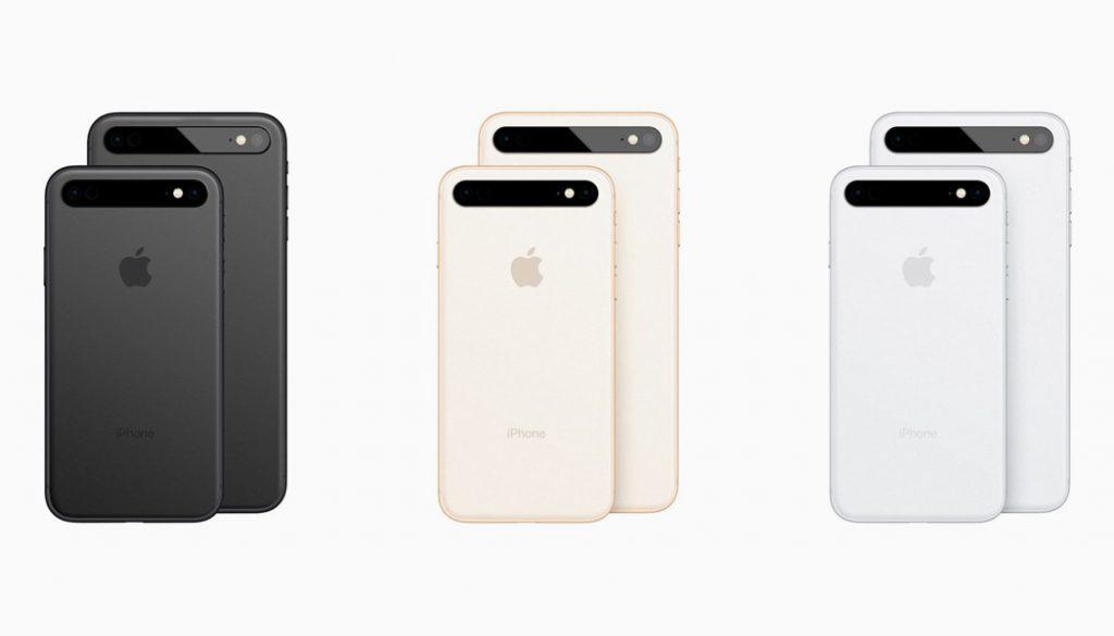 Concept: un triple capteur photo aligné horizontalement pour l'iPhone 11 3
