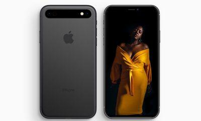 Concept : un triple capteur photo aligné horizontalement pour l'iPhone 11 3
