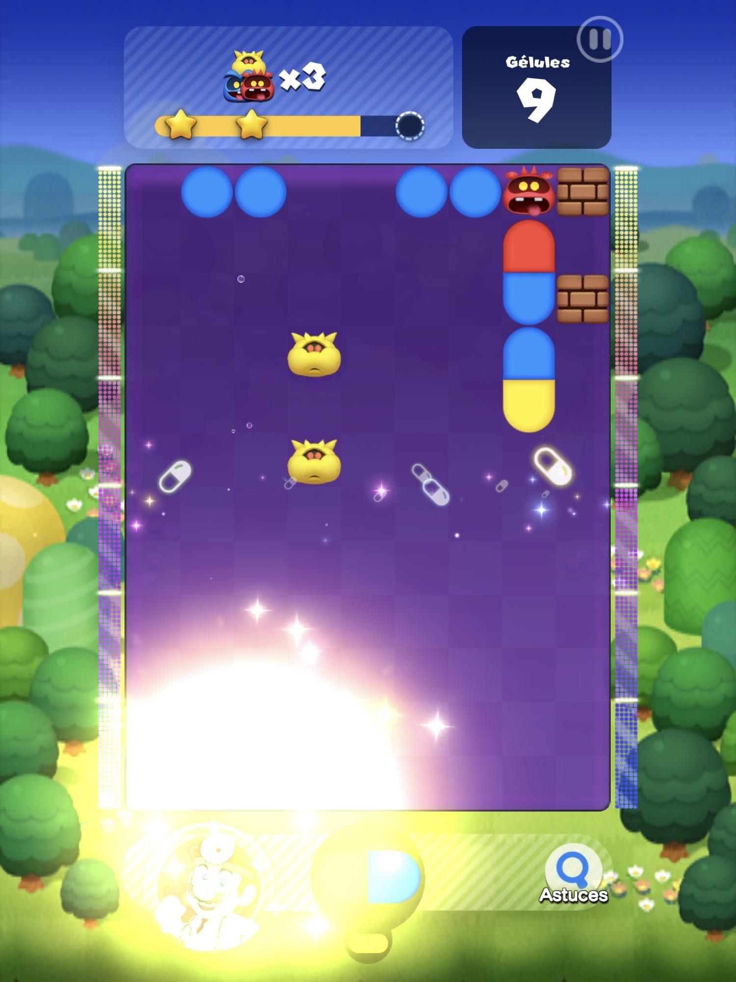 Test de Dr. Mario World sur iPhone & iPad: quand le plombier devient docteur 3