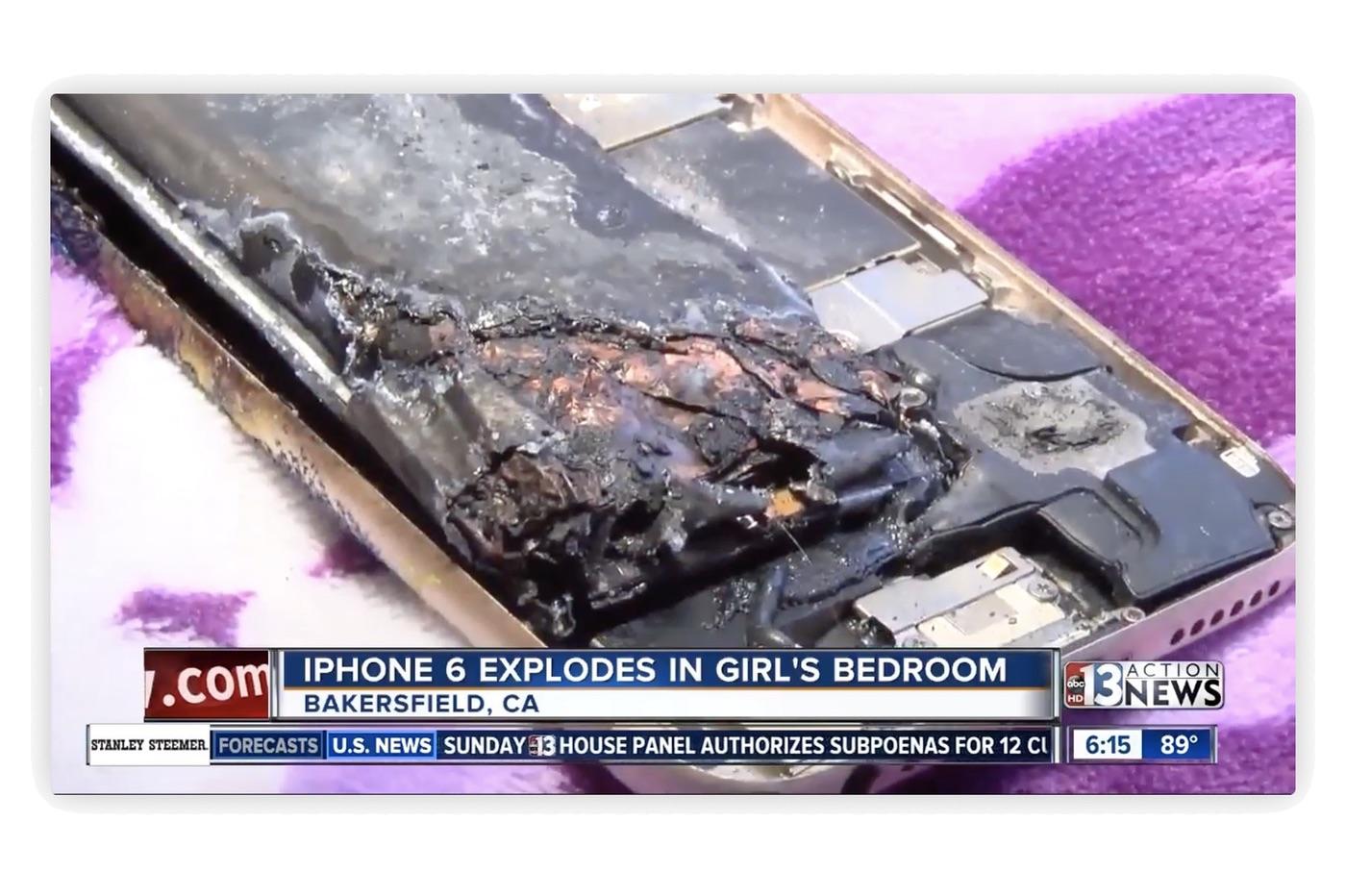 Son iPhone explose, Apple enquête 1