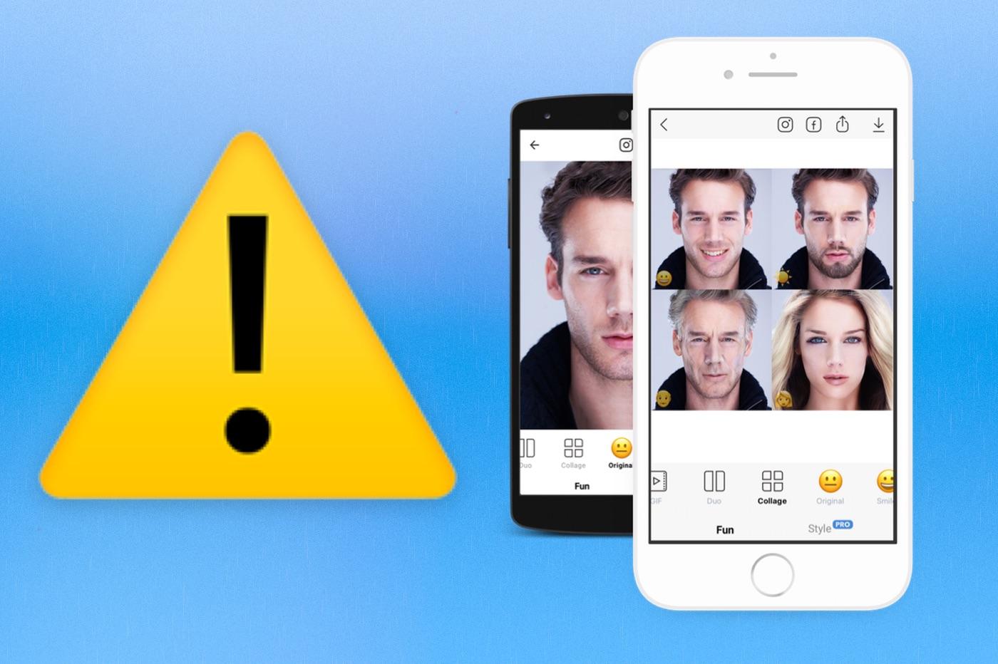 Gare à la vie privée : l'app FaceApp peut réutiliser vos photos 1
