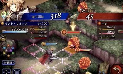 War Of the Visions : jolie vidéo de gameplay pour ce jeu à la Final Fantasy Tactics 11