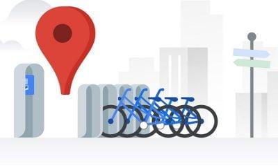 Google Maps affiche les stations de vélo en libre-service à Lyon, et dans 23 autres villes 7