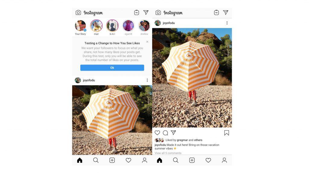 Instagram vous prévient avant d'effacer votre compte 1