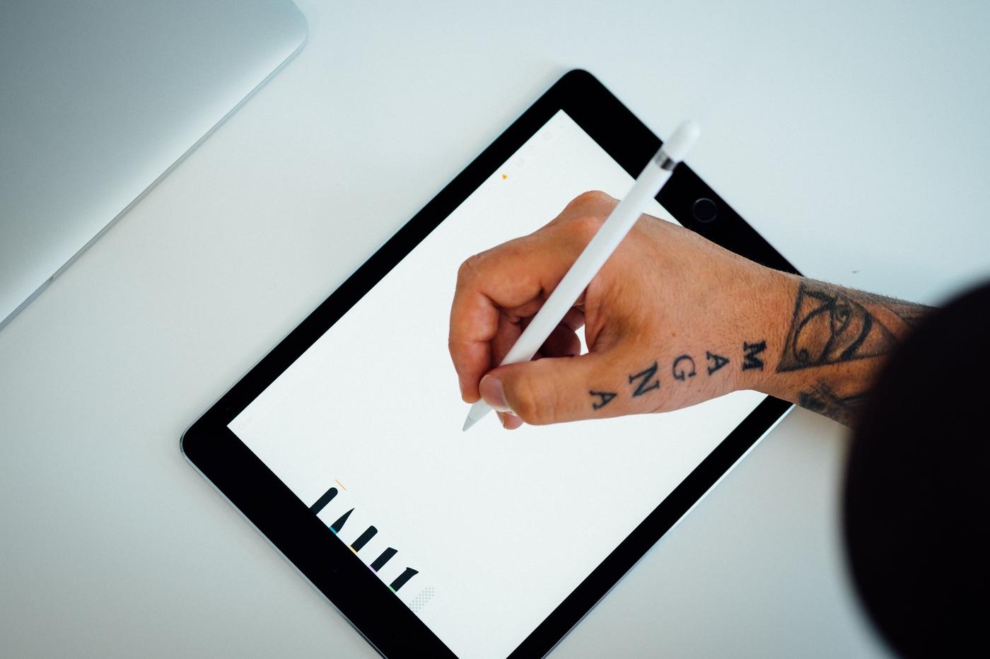 Dessin sur iPad