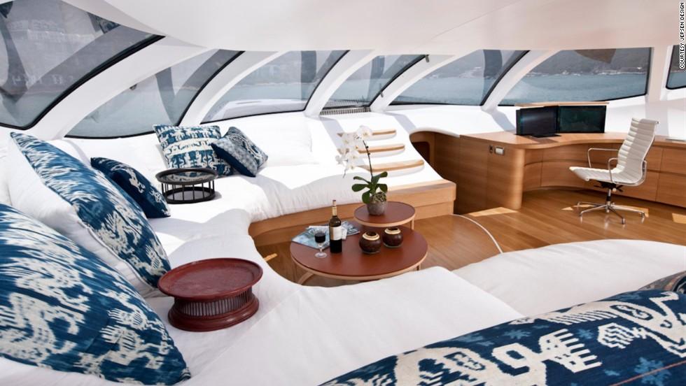 Un yacht futuriste de 15 millions de dollars, pilotable à l'iPad 3