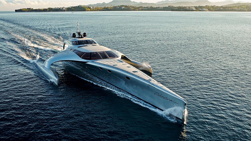 Un yacht futuriste de 15 millions de dollars, pilotable à l'iPad 2