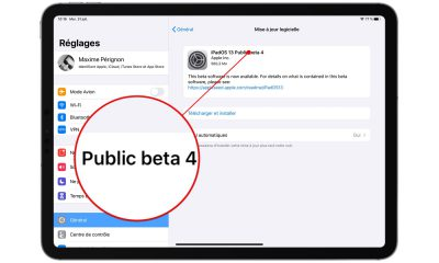 La quatrième bêta publique d'iOS 13 et iPadOS est disponible 5